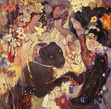 Play with Panter by Svetlana Tiourina