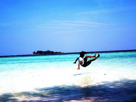 Gai Sin Liem - Playing Water in Karimun Jawa