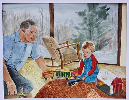 Playtime with Pappy by Jody Neugebauer