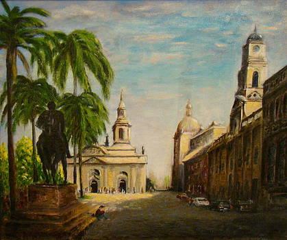 Plaza Santiago by Joel Vargas