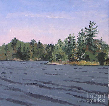 Plein Air Head Lake by Joan McGivney