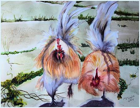 Plump Chickens by Myrna Migala