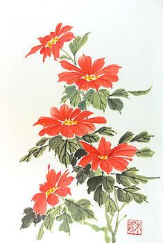 Poinsettias by Yolanda Koh