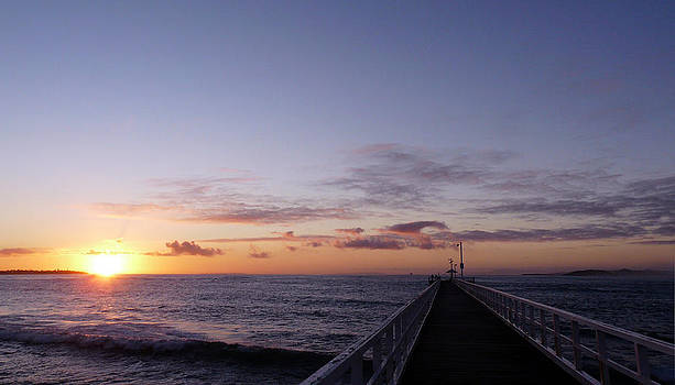 Point Lonsdale sunrise by John Monteath