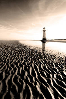 Point of Ayr Lighthouse by Wayne Molyneux