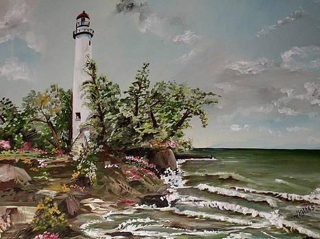 Amalia Jonas - Pointe Aux Barques lighthouse
