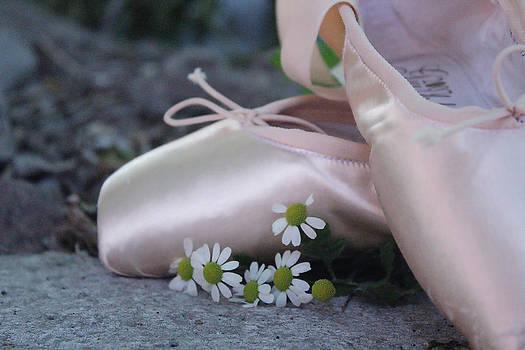 Pointe shoes by Yekaterina Grigoryeva