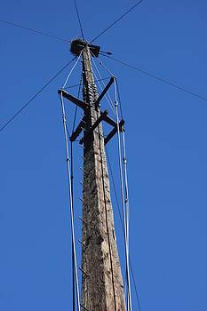 Pole at Silver City by Mickey Hatt