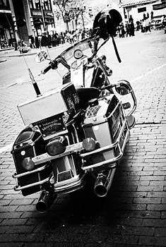 Police Bike by Off The Beaten Path Photography - Andrew Alexander