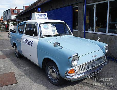 Police Ford Anglia by Sally Barnett
