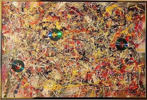 Pollock Tribute by James Howard