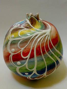 Pomegranate by Yildiz Ibram