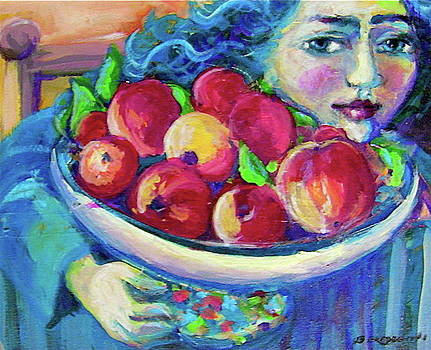 Pommes by Anne Marie Bourgeois