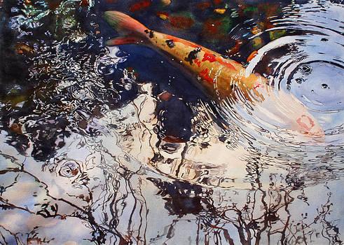 Pond Reflections II by Kathleen Ballard