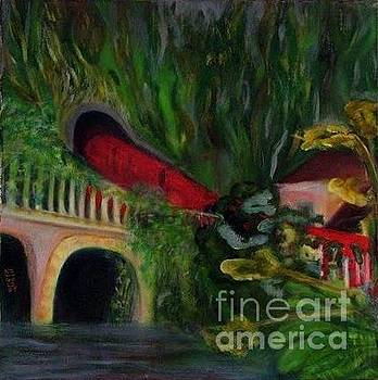 Pont de la Jonction by Jenny Goldman