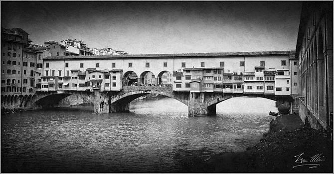 Ponte Vecchio  by Brian  Minnis