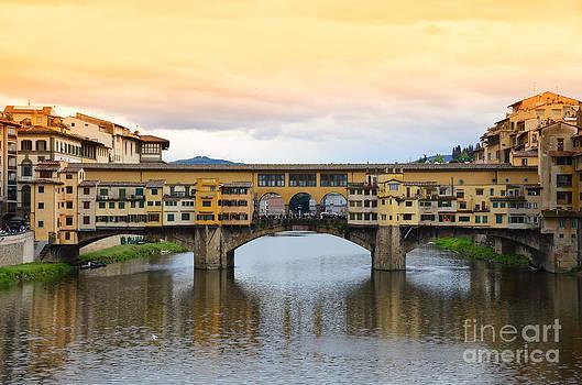 Ponte Vecchio bridge in Florence by Alexander Chaikin