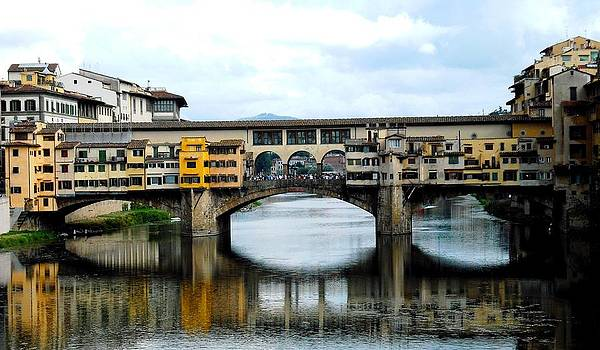 Ponte Vecchio in Florence by Winston Moran