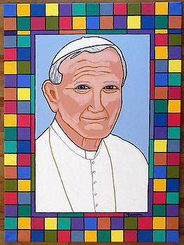 Pope John Paul II by Eamon Reilly