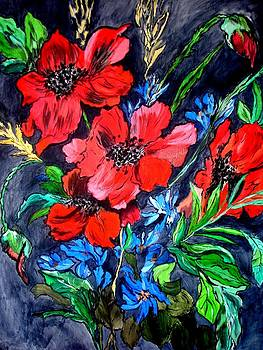 Poppies by Debbie Braswell