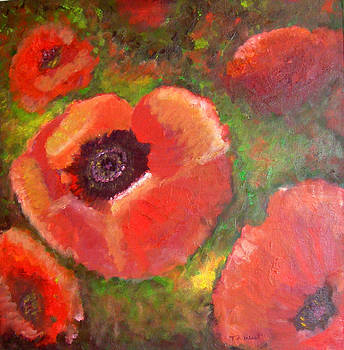 Poppies Galore by Terri West
