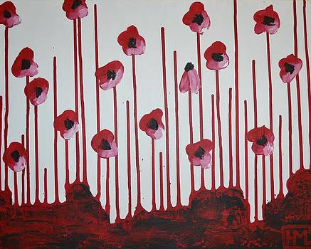 Poppies by Holly Donohoe