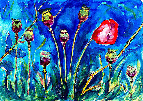Ion vincent DAnu - Poppies