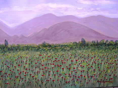 Poppies by Manolia Michalogiannaki