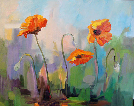Marty Husted - Poppies