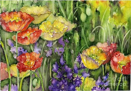 Poppies by Tania Vasylenko