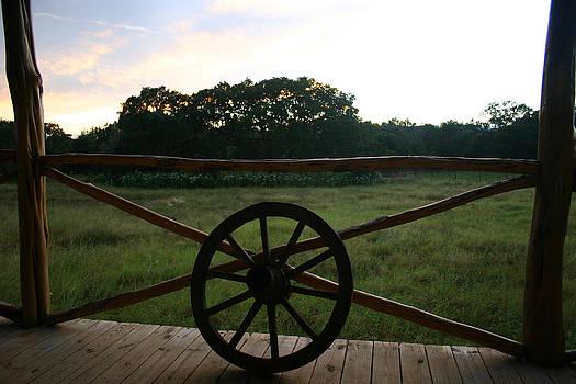 Nina Fosdick - Porch View in Texas