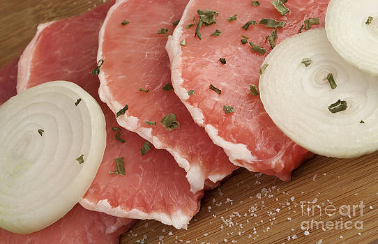 Pork chops by Blink Images