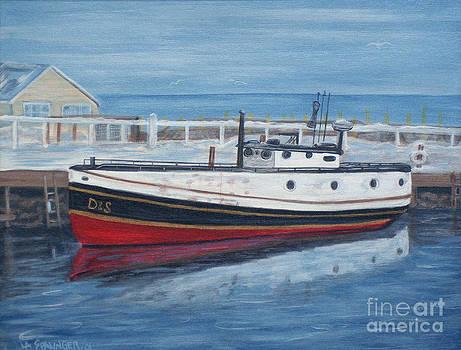 Port Washington Sunday by Laura Spalinger