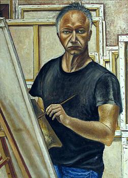 Portarait of a man by Vladimir Kezerashvili