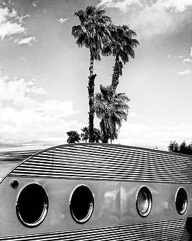 William Dey - PORTHOLES BW Palm Springs