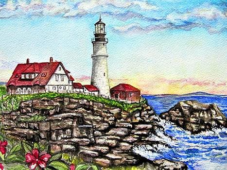 Portland Head Lighthouse by Pam Utton