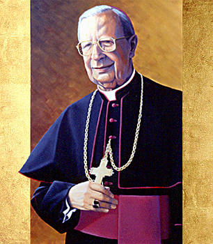 Portrait Alvaro Del Portillo by Marco Intra Sidola