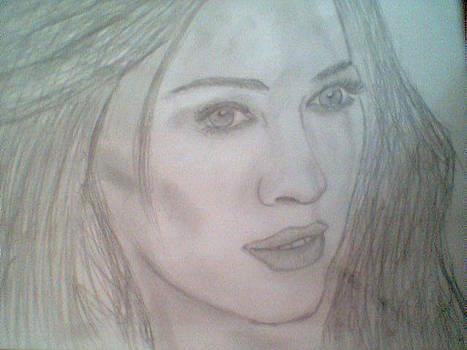 Portrait by Gaspar Alex