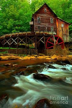 Adam Jewell - Portrait Of A Grist Mill