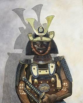 Portrait of a Samurai by Mr Dill