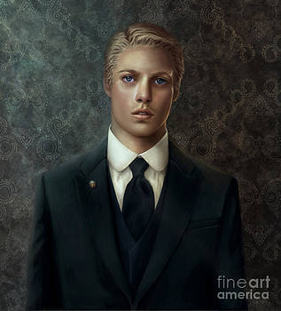 Portrait of a young official -Riashe by Doris Mantair