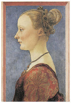 Antonio Del Pollaiuolo - Portrait of a Young Woman