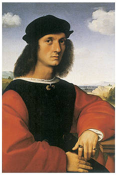 Raffello Sanzio - Portrait of Agnolo Doni