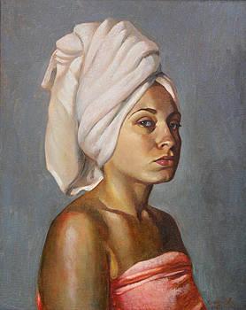 Portrait of Anna by Tatyana Holodnova