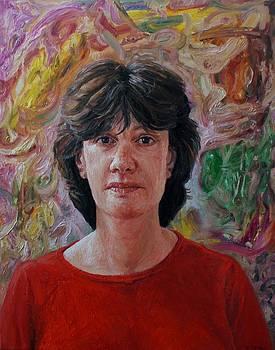 Portrait of Annika by Edward Ofosu