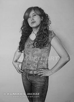 Portrait of Artist by Kumiko McKee