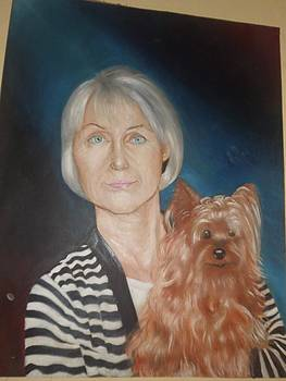 portrait of Ava by Tamer Elsamahy