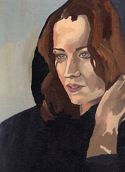 Portrait of Becca 2 by Stephen Panoushek