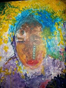 Portrait of Josephine Baker by ED Setien