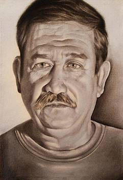 Portrait of my father by Antonio Barriga